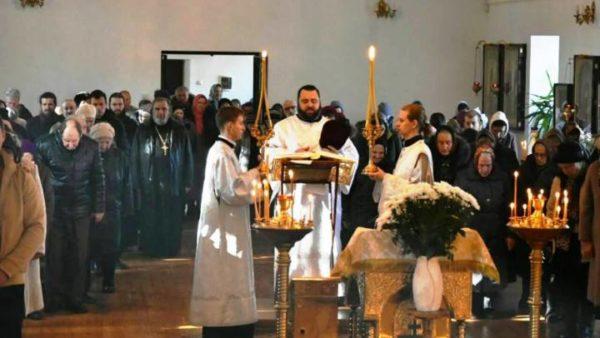 Заупокійне богослужіння в 40-й день після блаженної кончини Митрополита Ніжинського і Прилуцького Іринея