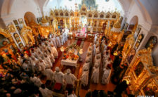 40-й день після смерті Високопреосвященнішого Митрополита Ніжинського і Прилуцького Іринея