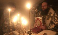 Архієпископ Климент звершив Божественну літургію в Києво-Печерській Лаврі