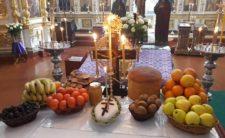 Духовенство Ніжинської єпархії завершило заупокійне богослужіння на могилі принопам'ятного Митрополита Іринея