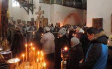 Архієпископ Климент звершив останнє в Великому посту Чинопослідування з акафістом Божественним Страстям Христовим