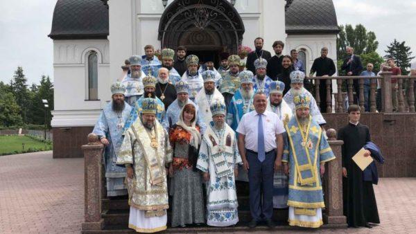 Старець Святої Гори Афон передав благословення Ніжинській єпархії
