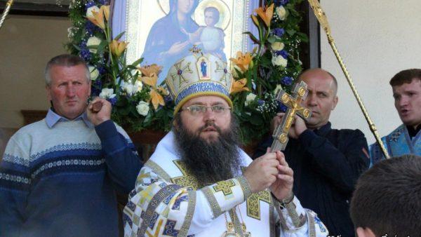 У день вшанування Ржавської ікони Божої Матері Високопреосвященніший Архієпископ Климент звершив Божественну літургію в селі Кобижча