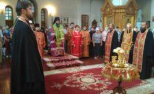 Архієпископ Климент взяв участь в урочистостях у Пантелеймонівському монастирі м. Києва