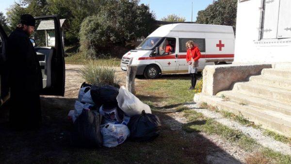 Ніжинська єпархія продовжує допомагати потерпілим від аварії в Ічні