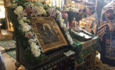 Високопреосвященніший Архієпископ Климент очолив молебень з акафістом Божій Матері в м. Борзна