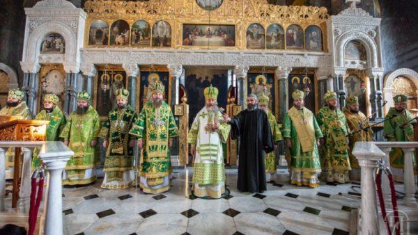Архієпископ Климент взяв участь у святкуванні дня пам'яті преподобного Нестора Літописця та Собору святих Київської духовної академії