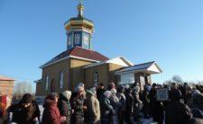 Високопреосвященніший Архієпископ Климент освятив новозбудований храм у селі Бахмач