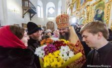 У день тезоіменитства Високопреосвященніший Архієпископ Климент очолив літургію в Миколаївському соборі м. Ніжина (+відео)