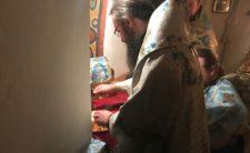 Архієпископ Климент звершив Божественну літургію на Ближніх печерах Києво-Печерської Лаври