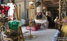 Високопреосвященніший Архієпископ Климент звершив Божественну літургію у Василівському храмі м. Ніжина (+відео)