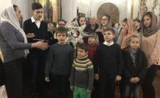 У день свята Різдва Христового Високопреосвященніший Архієпископ Климент звершив велику вечірню