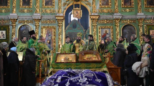 Архієпископ Климент вшанував пам'ять преподобного Лаврентія Чернігівського