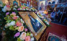 Архієпископ Климент співслужив Блаженнішому Митрополиту Онуфрію в Феофанії