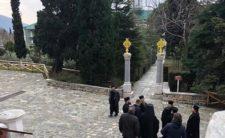 Розкольників із «ПЦУ» не впустили до Свято-Пантелеімонового монастиря на Афоні