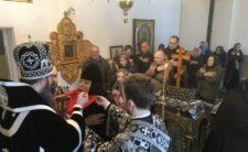 У суботу першої седмиці Великого посту Архієпископ Климент відвідав Пустельно-Рихлівський монастир