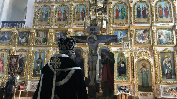 Архієпископ Климент звершив Літургію Передосвячених Дарів у Миколаївському кафедральному соборі м. Ніжина