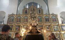 Архієпископ Климент очолив чинопослідування з Акафістом Божественним Страстям Христовим