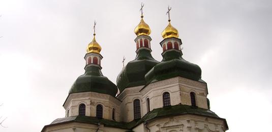 Віряни Свято-Миколаївського кафедрального собору дали відсіч непроханим провокаторам (відео)