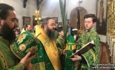 У Вербну неділю Високопреосвященніший Архієпископ Климент очолив святкове богослужіння в Ніжині