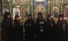 Архієпископ Климент звершив чернечий постриг насельниць Густинського монастиря