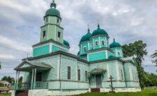 Архієпископ Климент звершив Божественну літургію в Миколаївському храмі с. Атюша Коропського району