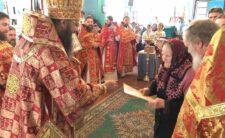 У суботу 3-ї седмиці після Пасхи Архієпископ Климент звершив Божественну літургію в с. Селище Носівського району (відео)