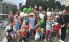 Діти-сироти з Ніжинської єпархії відвідали IV Фестиваль доброти та дитинства «Божі Діти»