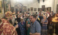 У Неділю про сліпого Архієпископ Климент звершив Божественну літургію в Миколаївському кафедральному соборі м. Ніжина (відео)