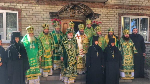 Митрополит Климент взяв участь у служінні Божественної літургії в Городницькому Георгіївському чоловічому монастирі