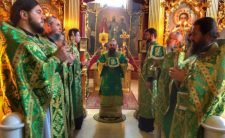 Високопреосвященніший Митрополит Климент вшанував пам'ять преподобних отців Києво-Печерських, які у Дальніх печерах спочивають