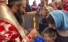 Високопреосвященніший Митрополит Климент освятив новий престол у с. Кропивне