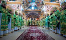 Митрополит Климент молитовно вшанував пам'ять преподобного Кукші Одеського (відео)