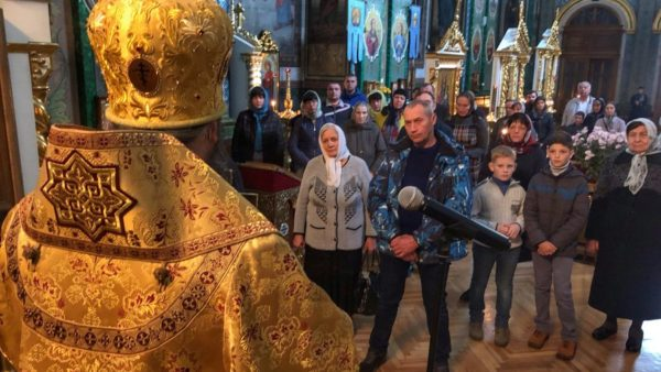 Митрополит Климент звершив Божественну літургію в Богоявленському Кременецькому жіночому монастирі