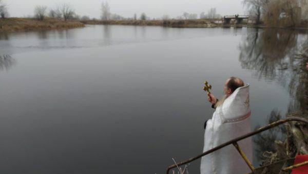 Святкування Хрещення Господнього у храмах Ніжинської єпархії