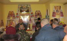 На Святках клірики Коропського благочиння відвідали психоневрологічні інтернати, розташовані на території району