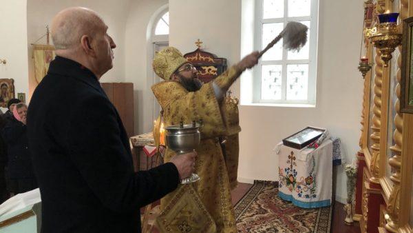Високопреосвященніший Митрополит Климент освятив новий іконостас у с.Фастовці Бахмацького району (відео)