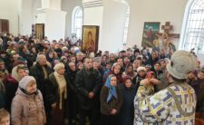 У день свята Стрітення Високопреосвященніший Митрополит Климент очолив святкове богослужіння в Прилуках (відео)