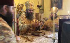 У Неділю м'ясопусну Митрополит Климент очолив Божественну літургію в с. Талалаївка Ніжинського району