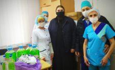 Ніжинська єпархія продовжує надавати допомогу лікарням і лікарям