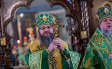 Високопреосвященніший Митрополит Климент очолив Божественну літургію в Покровському храмі м. Києва