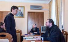 Голова Учбового комітету взяв участь у засіданні кафедри богослов'я і біблеїстики Київської духовної академії