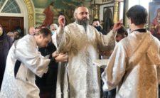 У день Собору Архістратига Михаїла Високопреосвященніший Митрополит Климент очолив храмове богослужіння в м. Бобровиці