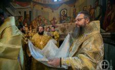 Високопреосвященніший Митрополит Климент взяв участь в освяченні престолу в Покровському кафедральному соборі м. Борисполя