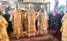 Архієрейське богослужіння в Михайлівському храмі м. Бобровиця