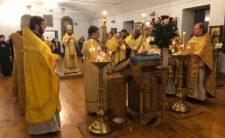 Преосвященніший Єпископ Ладанський Феодосій вшанував пам'ять свого Небесного покровителя