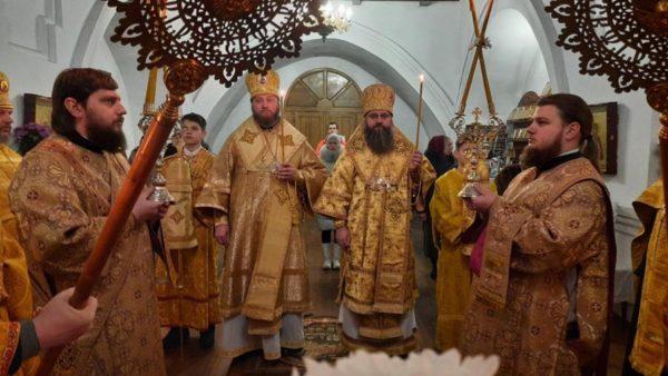 Всенічне бдіння напередодні Неділі про митаря і фарисея в Миколаївському кафедральному соборі м. Ніжина