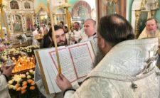 Високопреосвященніший Митрополит Климент очолив чин погребіння благочинного Коропського району архімандрита Миколая (Путрі) (відео)