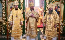 Божественна літургія у Свято-Троїцькому Густинському монастирі в Неділю про митаря і фарисея (відео)