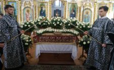 Напередодні Великої Суботи Високопреосвященніший Митрополит Климент очолив утреню з чином погребіння Плащаниці